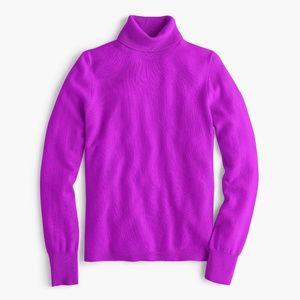J. CREW Everyday Cashmere Turtleneck Sweater LL38